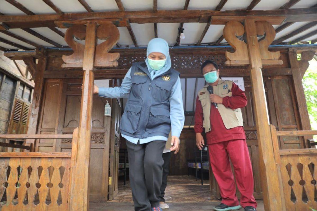 Gubernur Jawa Timur Khofifah Indar Parawansa Meresmikan Rs Lapangan Joglo Dungus Madiun Di Desa Dungus, Kecamatan Wungu, Kabupaten Madiun
